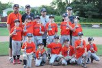The Union City Little League Astros won the minor division championship. The Astros went 16-3 this season and defeated the White Sox, 11-3, in the championship game June 18. Pictured (front row) Brendan Lyles, Stephen Higley, Sebastian Boscarino, Brady Evon, Andrew Jones (middle row) Andrew Normand, Jack Tajmajer, Eugene Normand, Alex Filandro, Nate Gairing, Tim Gairing (back row) coaches Will Gairing, Dave Boscarino, Brian Evon and Justin Goodall. -CONTRIBUTED