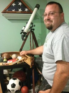 Photographer Gary Hodge of Naugatuck is working on a project to photograph 40 sports balls from popular and not-so-well-known sports for an art show later this year.  –PATRICK BURSEY