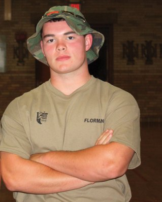 Prospect resident William Flormann, a student at Woodland Regional High School in Beacon Falls, completed the two-week Norwich University Future Leader Camp July 12 at the senior military college in Northfield, Vt. The camp is designed to develop the leadership skills of current high school students and includes physical fitness training, basic first aid training, orienteering and leadership classes. To qualify for the camp, applicants are required to have a minimum GPA of 2.5 and submit a letter of recommendation. All applicants had to demonstrate involvement in leadership-driven organizations outside the classroom. –CONTRIBUTED
