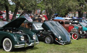 Prospect hosted its 29th Annual Sock Hop and Car Show on the Town Green Aug. 24. -ELIO GUGLIOTTI