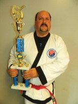 Martin Longo, representing USA Martial Arts in Naugatuck, won the Mens Black Belt board breaking championship at the Connecticut Yankee National Karate Tournament in Waterbury Oct. 4. –CONTRIBUTED