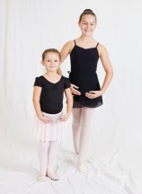 Naugatuck residents Leah Kulmann, right, and Ava LeMere were selected to perform in 'The Nutcracker' Dec. 20 at Woodland Regional High School in Beacon Falls. -CONTRIBUTED