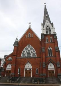 St. Francis Church on Church Street in Naugatuck is celebrating its 125th anniversary. The church opened its doors on Nov. 30, 1890. –LUKE MARSHALL