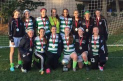 PSC Dynamo 98/99 won the National Elite Women's Soccer Showcase at Hofstra University and the AFC College Showcase Women's Division in late November. -CONTRIBUTED