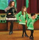 Dancers from the Horgan Academy of Irish Dance in Naugatuck, from left, Kailey Moore, Hannah Searles, and Siobhan Moore, perform a traditional Irish dance during a ceremony to honor Naugatuck's Irish Mayor of the Day March 17 at the Naugatuck Portuguese Club. –LUKE MARSHALL