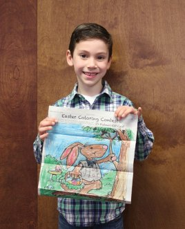 The Citizen's News recently held its Easter coloring contest. We would like to thank all of the children who participated in the contest. Richard Hildebrandt won the Citizen's News Easter coloring contest in the 3- to 5-year-old age group. –ELIO GUGLIOTTI