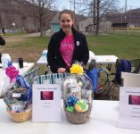 Kaitlyn Syrowsky, of Beacon Falls, organized a spring fundraiser walk at the Pent Road Recreation Complex in Beacon Falls April 9 to benefit the Connecticut Humane Society. She received donations from Big Y and Julia's Bakery for water and pastries for the day. The event raised over $300. Syrowky, an eighth-grade student at Long River Middle School, received a private tour of the society's facility in Newington when she presented them with the money collected. –CONTRIBUTED