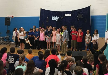 Cross Street Intermediate School hosted a talent show May 12 at the school in Naugatuck. The show featured musical and dance performances. –CONTRIBUTED