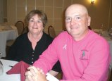 Pam Davis, left, office manager of Brown Roofing in Naugatuck, was recently named treasurer of ProfNet, Inc. She is pictured with Norbert Przybyl, owner of Four Season Services in Wolcott, who was named incoming president. ProfNet, Inc. is an independent business leads-generating networking group. –CONTRIBUTED