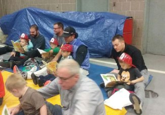 Naugatuck Firefighters Local Union 1219 hosted its 23rd Dad's Night at the Firehouse Nov. 2. The event was held in conjunction with the Naugatuck school system's Head Start Program. –CONTRIBUTED