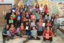 Long River Middle School students recently participated in their annual Veterans Day Project. The students assembled 125 care packages for veterans using donations from the community. The packages included handmade 'Thank You' cards. –CONTRIBUTED