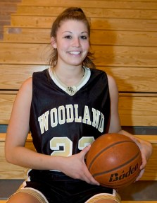 Woodland's Jen Valente is pictured in 2006 at the high school. –REPUBLICAN-AMERICAN ARCHIVE