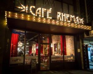 Café Rhema Where Conversation Starts