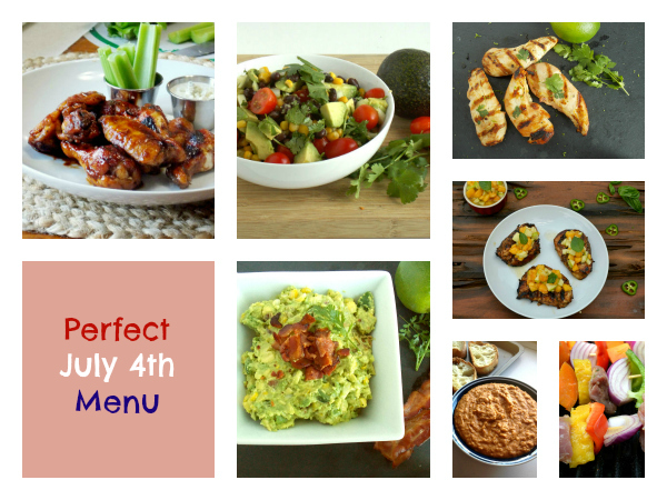 Perfect July 4th Summertime Recipes!