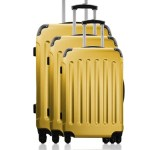 Bluestar 3er Set Hartschalen Trolley Madrid gelb 149€ statt 499€