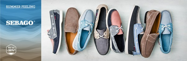 Sebago Deal auf brands4friends