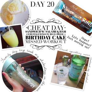 Day 20 - 21 Day Fix Extreme