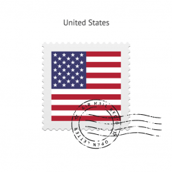 cancelled postage stamp