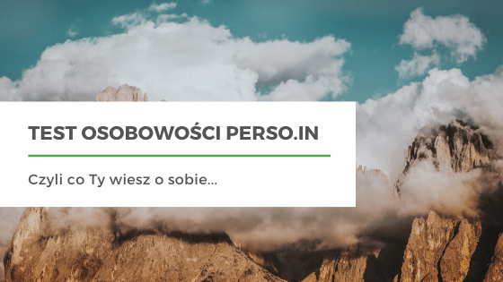 test osobowosci z PERSO.IN