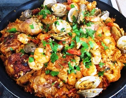Seafood and Chicken Paella | My Colombian Recipes
