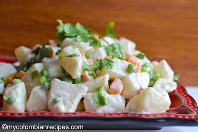 Ensalada Rusa (Russian Salad) | My Colombian Recipes