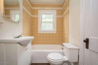 Yellow Tile 2nd Bathroom