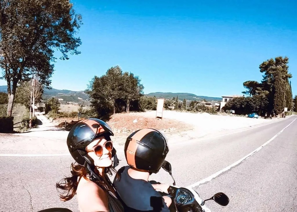 Riding a Vespa in Tuscany Italy - Make Your Travels Better