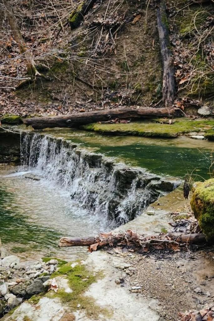 Fairmount Falls Creek Mini Waterfalls