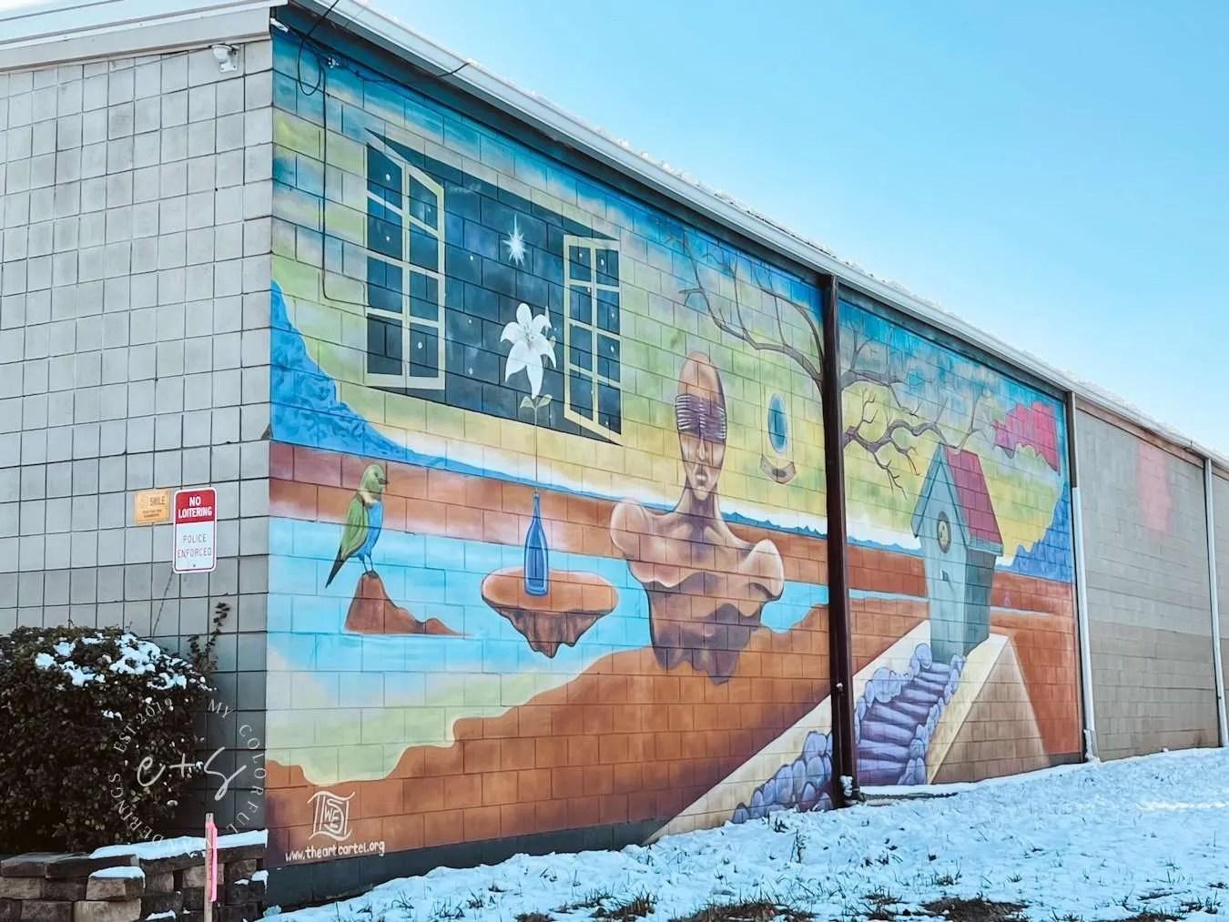 Trippy Dreams Mural - Louisville The Art Cartel Murals