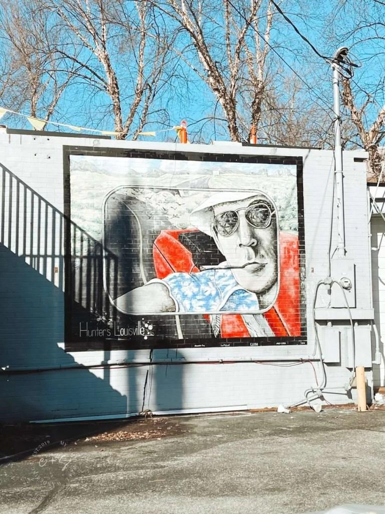 Hunter's Louisville Mural