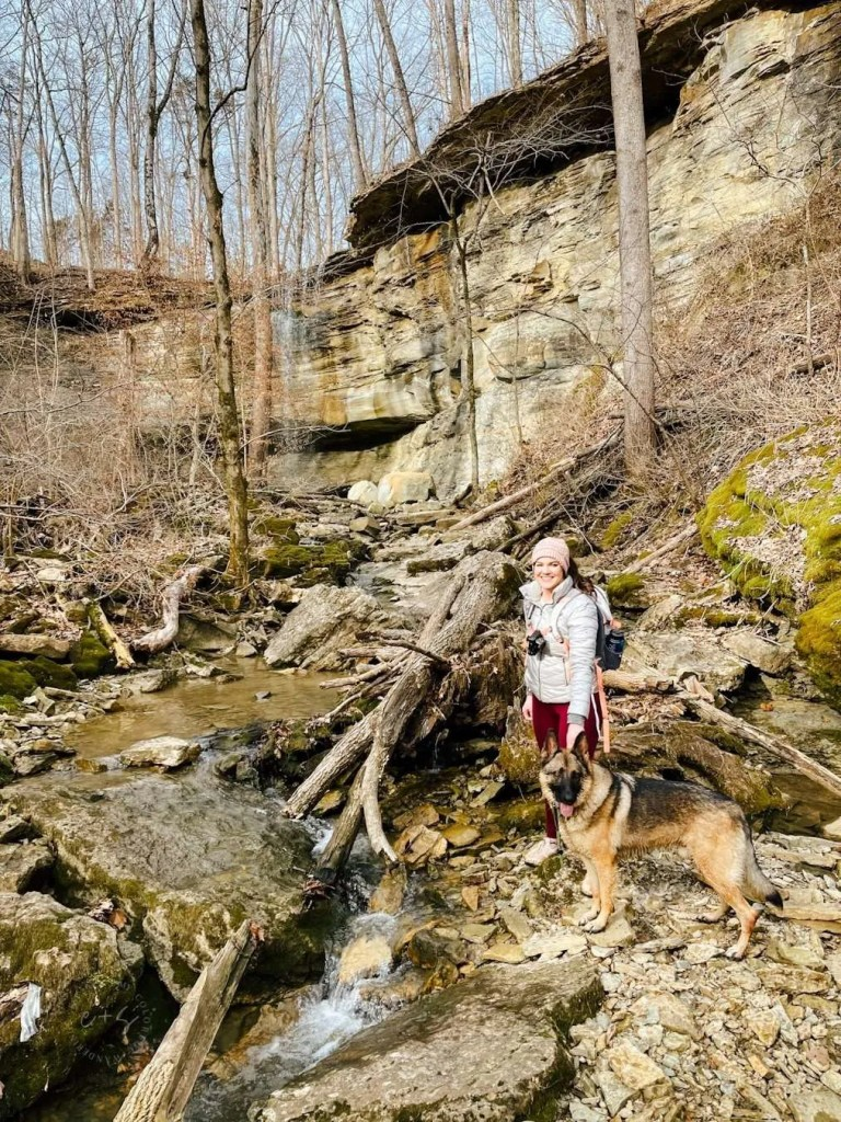 What time of year is best to visit Fairmount Falls Louisville Kentucky
