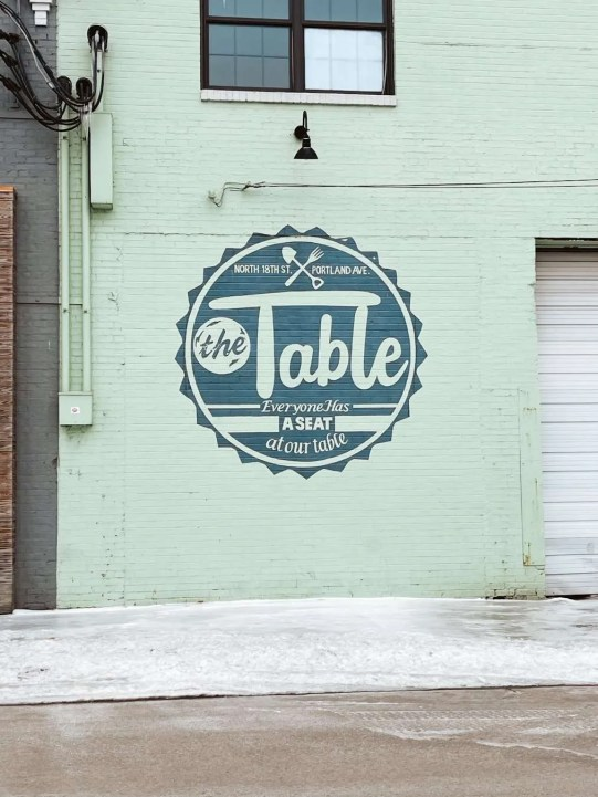 The Table Louisville Mural