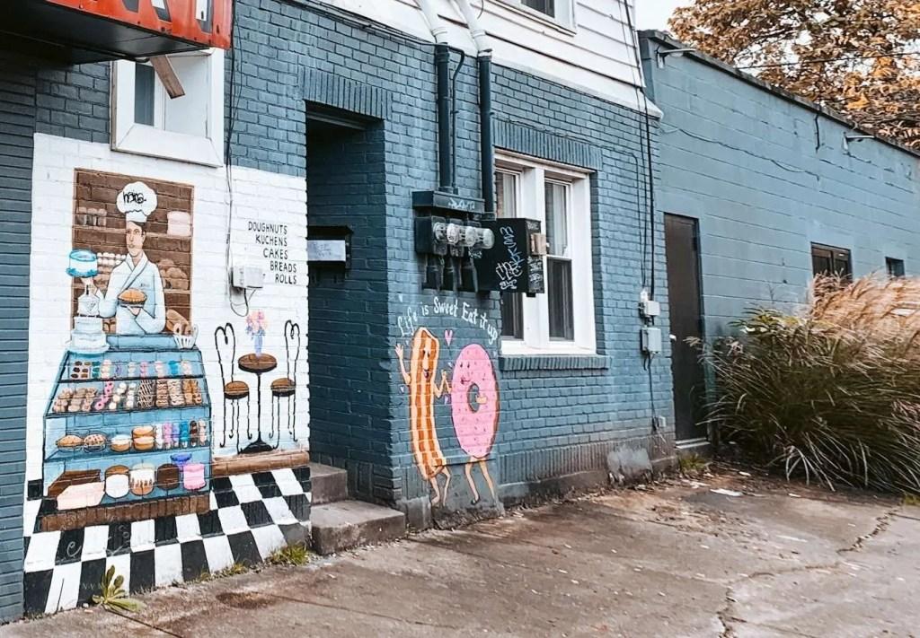 Nords Bakery Mural louisville kentucky