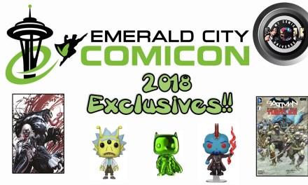 2018 Emerald City Comic Con Exclusives – Comic Books & Funko Pops