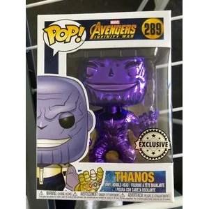 Thanos Funko Pops