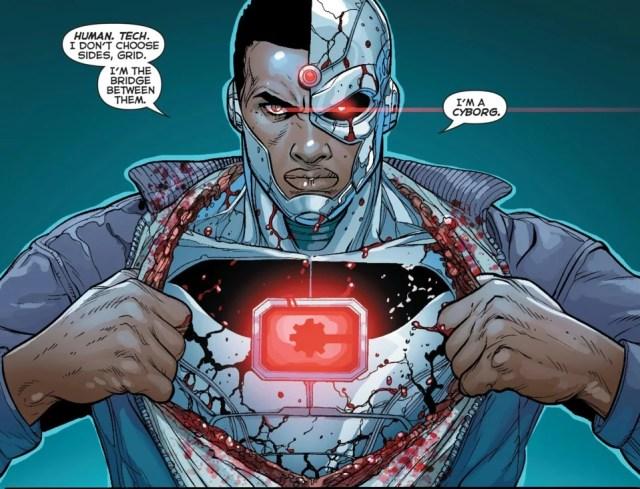 DC Universe Cyborg