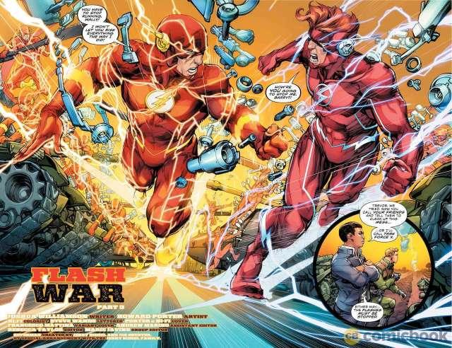 flash war conclusion dc comics