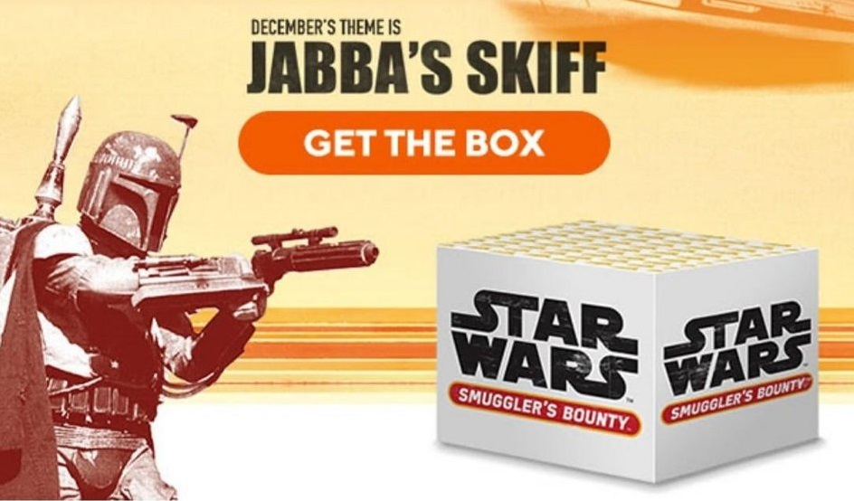 star wars smugglers bounty jabbas skiff unboxing