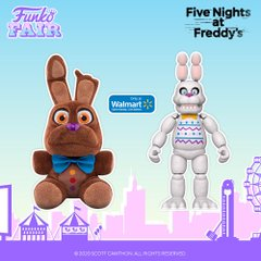 funko fair day 3 toy fair 2021 sports and games five nights at freddy's FNAF walmart exclusive pop plush chocolate bonnie action figure easter