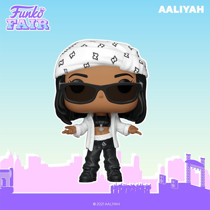 funko fair day 9 toy fair 2021 dc comics and music aaliyah pop