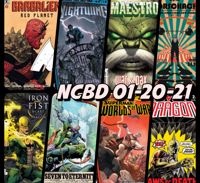 New Comic Book Recommendations   January 20, 2021