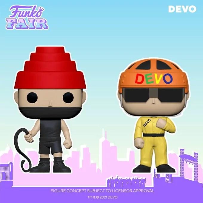 funko fair day 9 toy fair 2021 dc comics and music devo whip it satisfaction pop rocks