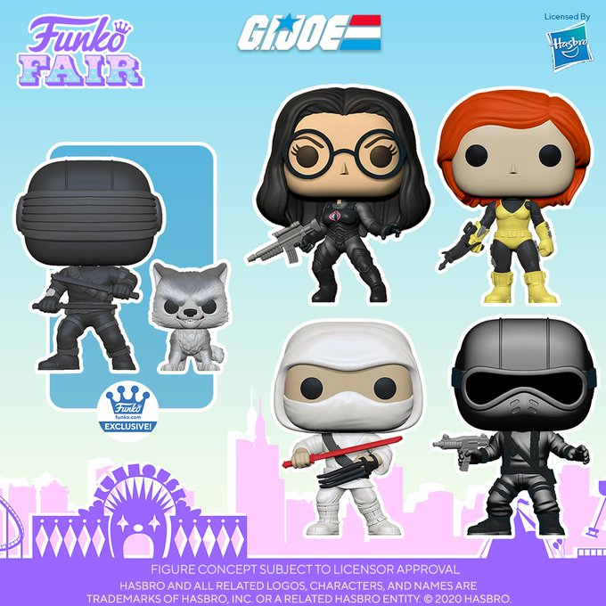 funko fair day 6 toy fair 2021 tv shows television g.i. joe pop snake eyes baroness scarlett storm shadow timber buddy exclusive