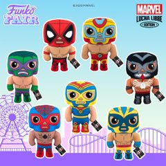 funko fair day 4 2021 marvel lucha libre pop plush