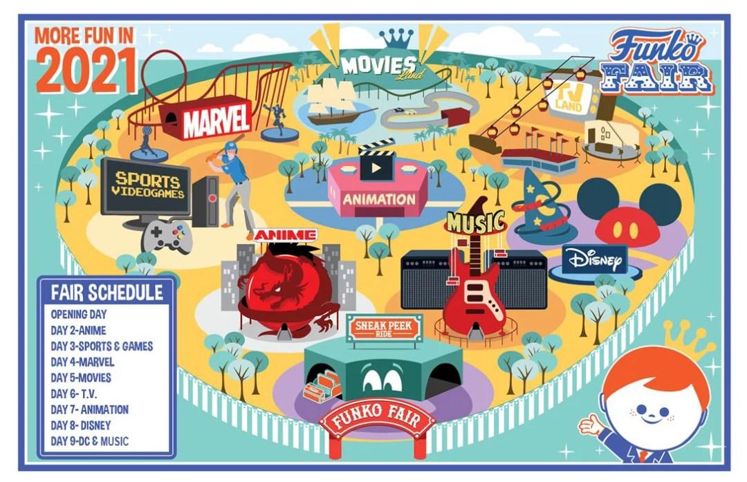funko fair day 9 dc and music toy fair 2021