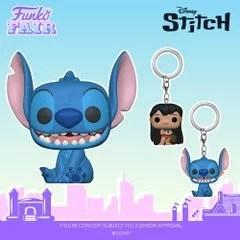 funko fair day 8 toy fair 2021 disney lilo and stitch pocket pop keychain seated smiling camera