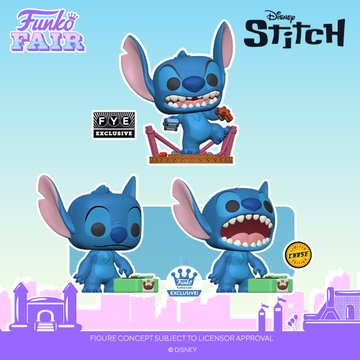 funko fair day 8 toy fair 2021 disney pop lilo and stitch exclusive pop monster record fye shop chance of chase