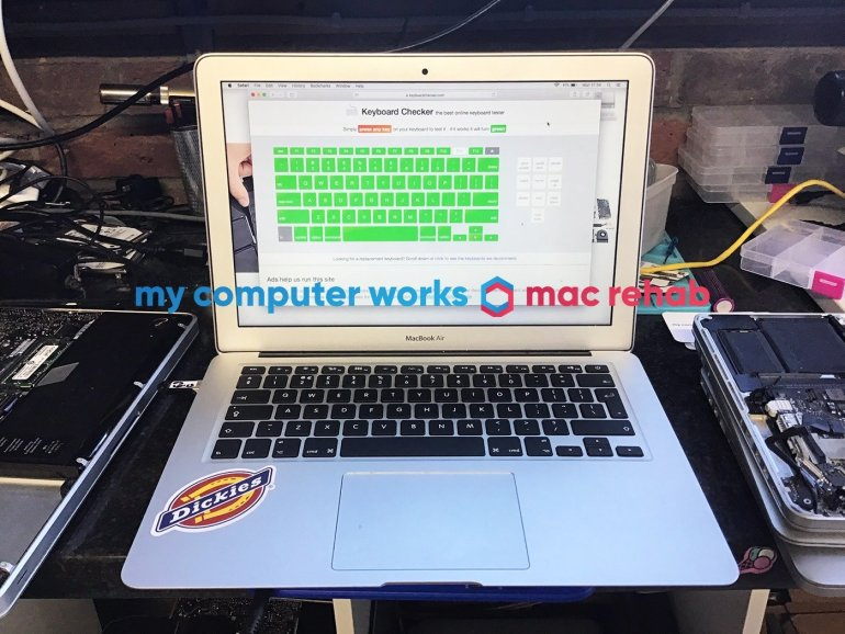 water damage repair macbook horsham