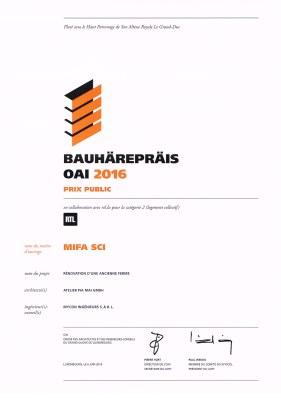 Bauhärepräis-OAI-2016 prix public