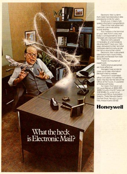 What the heck is electronic mail?